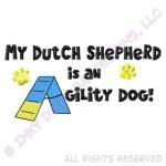 Dutch Shepherd Agility Dog Apparel