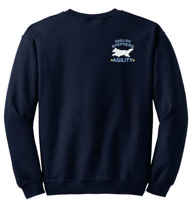 Cool English Shepherd Agility Sweatshirt