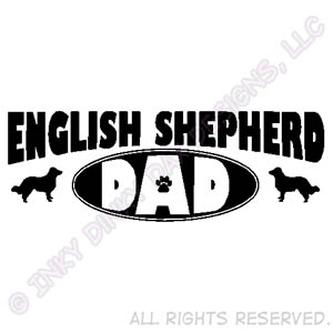 English Shepherd Dad Gifts