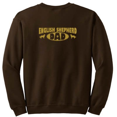 English Shepherd Dad Sweatshirt