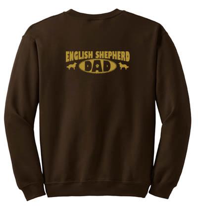 English Shepherd Dad Sweatshirt