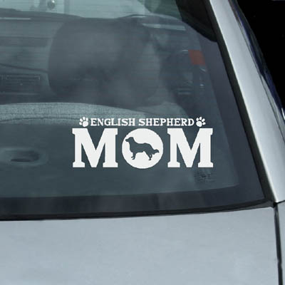 English Shepherd Car Stickers