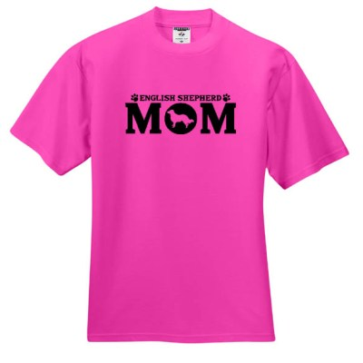 English Shepherd Mom T-Shirt