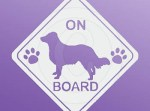 English Shepherd On Board Stickers
