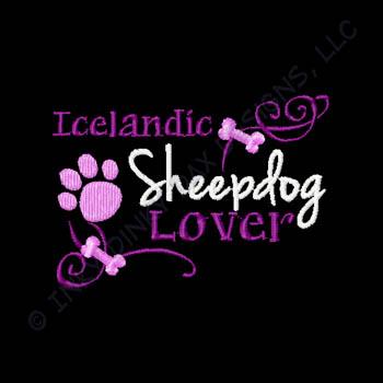 Embroidered Icelandic Sheepdog Shirts