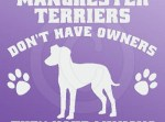 Funny Manchester Terrier Stickers