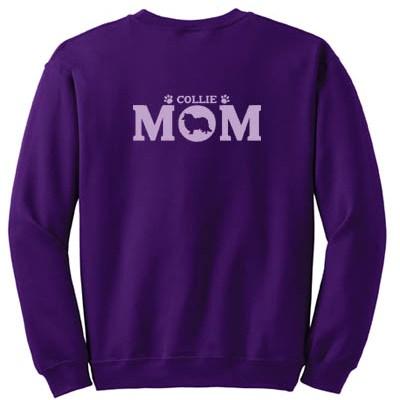 Rough Collie Mom Sweatshirt