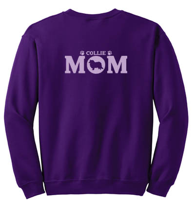 Rough Collie Mom Sweatshirt