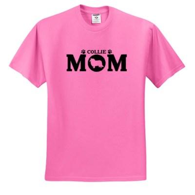 Rough Collie Mom T-Shirt