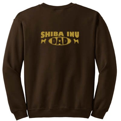 Shiba Inu Dad Sweatshirt