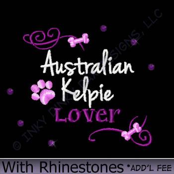 Kelpie Lover Rhinestones Shirts