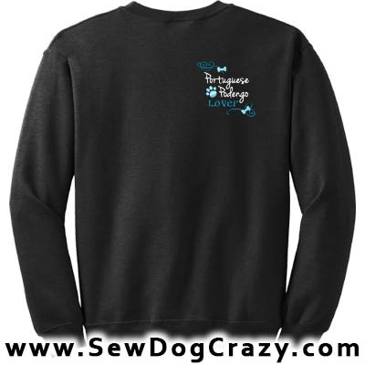 Embroidered Portuguese Podengo Sweatshirts