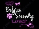 Pretty Belgian Sheepdog Embroidery