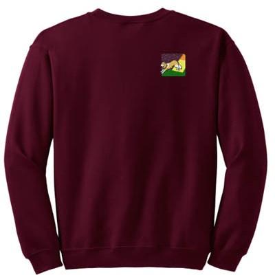 Embroidered Cavalier King Charles Spaniel Agility Sweatshirt