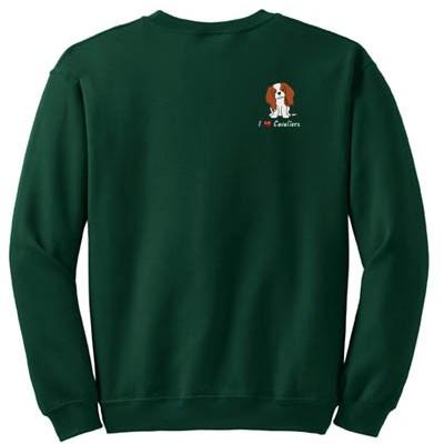 Embroidered Cavalier King Charles Spaniel Sweatshirt