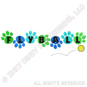 Flyball Embroidered Apparel