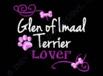 Pretty Glen of Imaal Terrier Embroidery