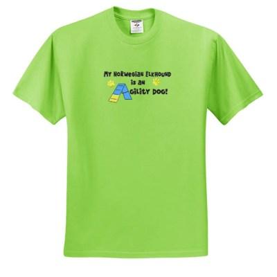 Norwegian Elkhound Agility T-Shirt