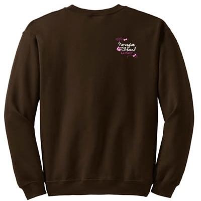 Embroidered Norwegian Elkhound Sweatshirt