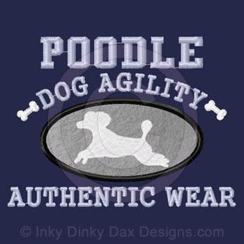 Puppy cut Poodle Agility Apparel