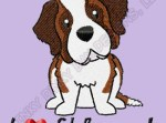 Cartoon St Bernard Apparel