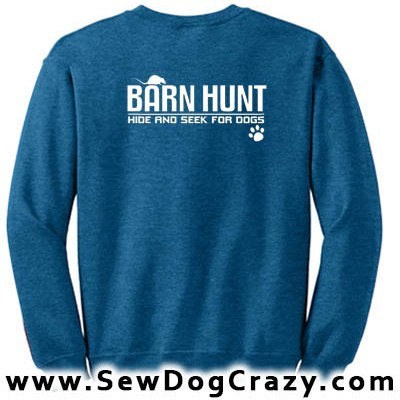 Barn Hunt Sweatshirts