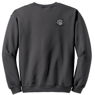 Cool Embroidered Dog Lover Sweatshirt