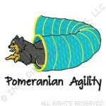 Cute Pomeranian Agility Apparel