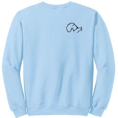 Schnauzer Barn Hunt Sweatshirt