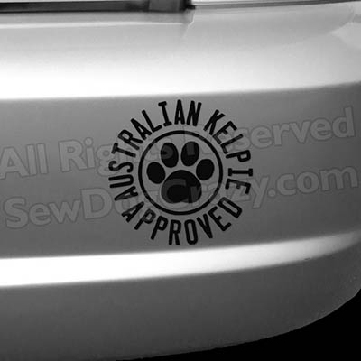 Kelpie Approved Bumper Stickers
