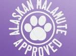 Alaskan malamute Approved Decal