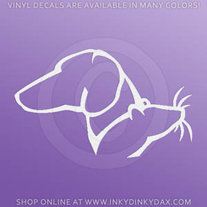 Dachshund Rat Decal