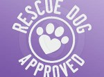 Rescue Dog Approved Decal