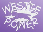 Westie Power Decal