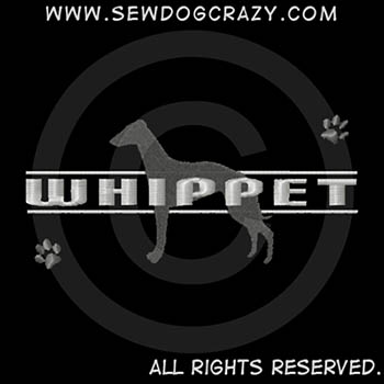 Embroidered Whippet Apparel