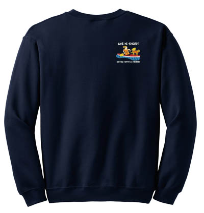 Dog Kayaking Sweatshirt