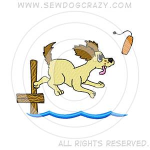 Cartoon Dock Diving Shirts