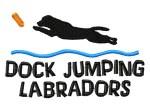 Dock Jumping Labrador Retriever Apparel
