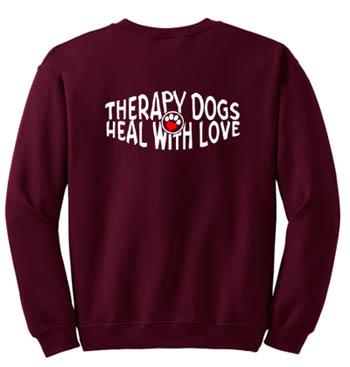Therapy Dog Sweatshirt