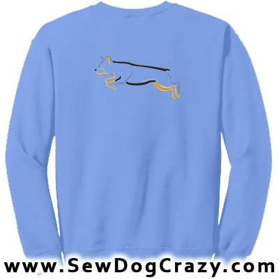 Embroidered Rottweiler Dog Sports Sweatshirts