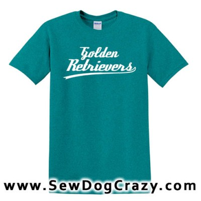 Golden Retriever Baseball TShirt