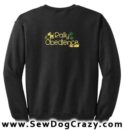 Cute Rally Obedience Sweatshirt