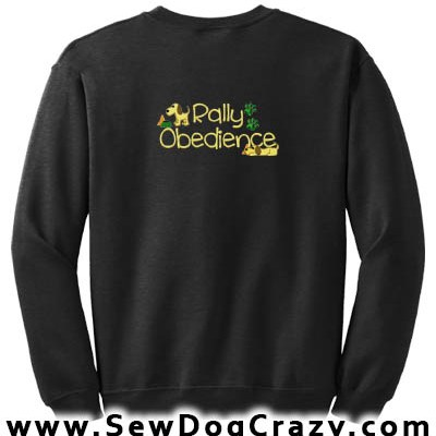 Cute Rally Obedience Sweatshirt
