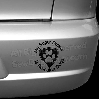 Rescue Dogs Bumper Sticker