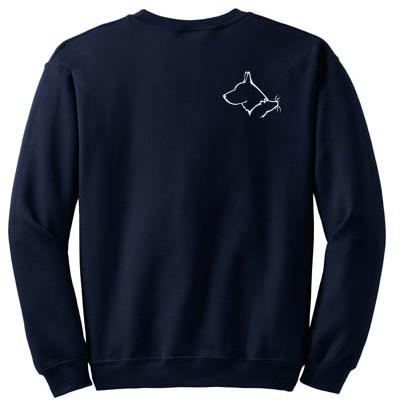 German Shepherd Barn Hunt Sweatshirt