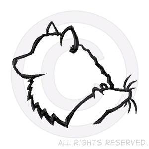 american Eskimo Dog Barn Hunt Embroidery