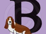 Embroidered Basset Hound Apparel
