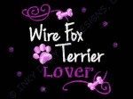Wire Fox Terrier Rhinestones Gifts