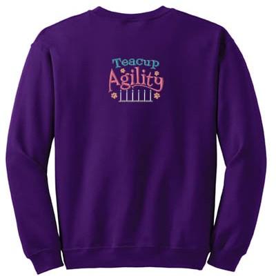 Embroidered Teacup Agility Sweatshirt