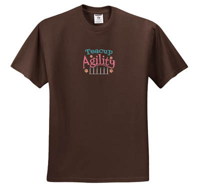 Embroidered Teacup Agility T-Shirt